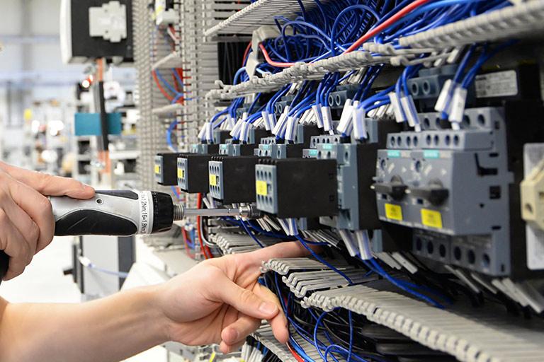 Reparatur eines elektrischen Systems